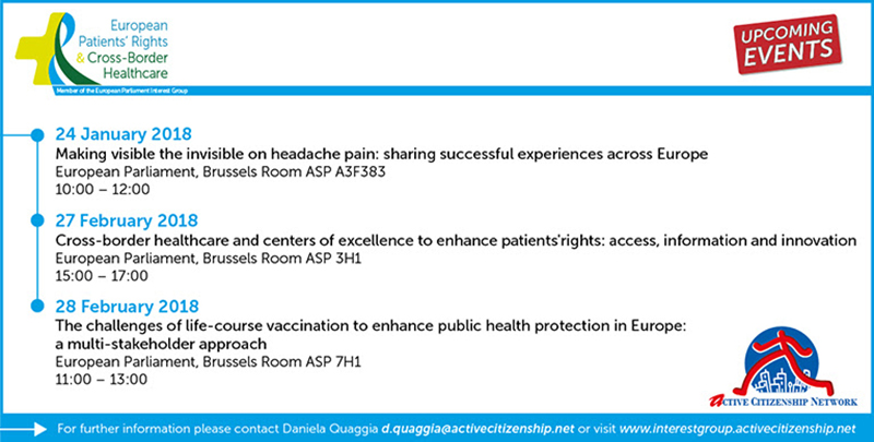 upcoming events of the meps informal interest group european patients rights and cross border healthcare join us